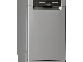 Посудомоечная машина Hotpoint-Ariston HSFO 3T235 WCX Свободно стоящая/ Серый