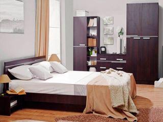 Dormitor Ambianta Bravo (Wenge), livrare gratuită în toată Moldova!