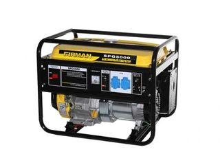 Generator 4 kW 230 V benzină, Firman SPG 5000/livrare gratuita toata Moldova/garantie/11820 lei