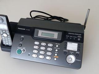 """Факс. аппарат """"Panasonic KX-FC 9600"""" на термобумаге с беспроводной трубкой. Новый"""