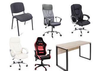 Fotolii scaune mese de oficiu pc cu livrare gratuita credit noi garanti