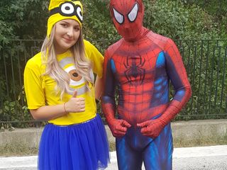 Spiderman & Minnion by Color Party SRL