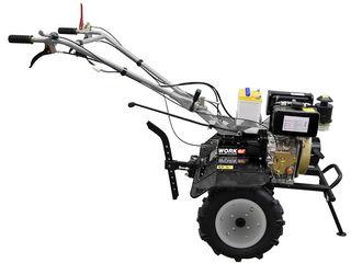 Motocultivatoare-мотоблоки, Motobloc diesel 6- 9 cp,reductor cu diferential si lumina!garantie 2 ani