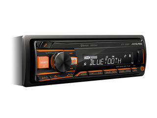 Оригинальные автомагнитолы и динамики Alpine с Bluetooth,USB,AUX,FM.КРЕДИТ!