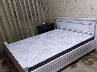 Деревянная двуспальная кровать - ясень на заказ