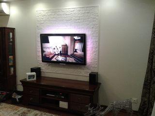 Монтаж телевизоров LCD, LED, PLASMA на стену.