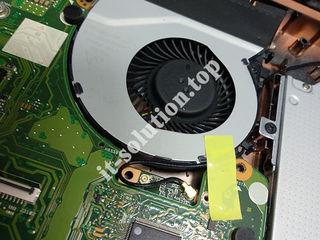 Curățare laptopuri sau calculatoare de praf, schimbare componente, instalare