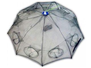 """Раколовка """"зонт"""" автоматическая 8 входов"""