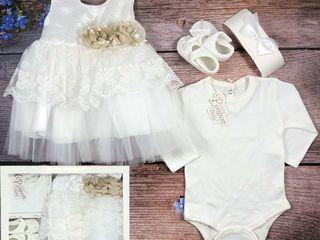 Белый нарядный набор /  Set alb