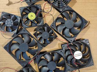 Вентиляторы разных размеров. 12 Вольт.