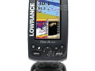 Эхолот Lowrance Elite-4 HDI (картплоттер - навигатор)