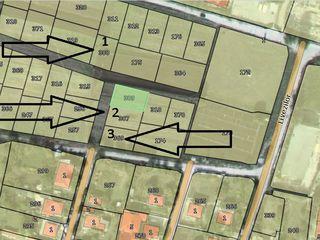 3 Loturi de teren in Ciorescu p/u constructia casei, 5 ari fiecare.