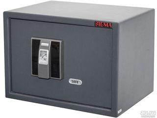 Сейф SFT-25EFD с электронным биометрическим замком (по отпечатку пальца).