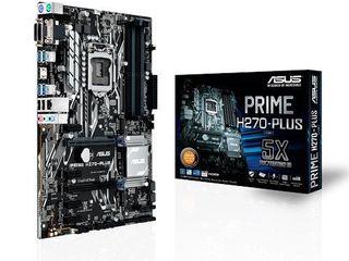 Asus Prime H270-Plus + гарантии