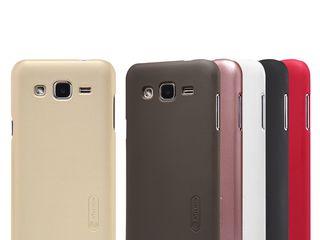 Samsung Galaxy J2 чехол Nillkin Frosted Shield, защитная плёнка