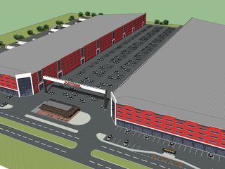 Park industrial straal (spatii comerciale in chirie) 3,6 euro/m2 http://straalpark.md/
