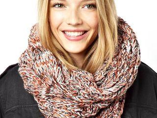 Теплый шарф-снуд Asos
