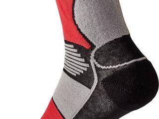 Носки Knoxfield Basic - красные с черным