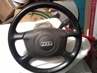 Audi.A6. Airbag. Руль .Рулевая колонка в сборе! volan..запчасти для audi, volkswagen