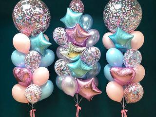 +Baloane cu heliu Шары с гелием