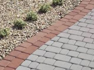 Укладка тротуарной плитки amenajare pavaj