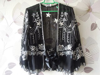 блузка с бисером и блестки