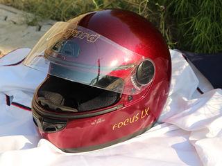 Шлем мото  made in Italia и дождевик мото + куртка красная
