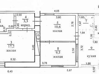 Дом по ул.Щусева, центр г.Рыбница у супермаркета Шериф=$12990. Можно в рассрочку.