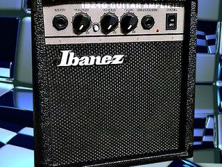 Ibanez IBZ1G=1280 mdl лучший гитарный комбик новый. Amplificator la electro-chitara nou