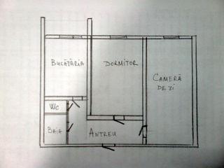 Apartament cu două odai Glodeni