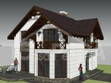Casa eficienta termic 120 m2