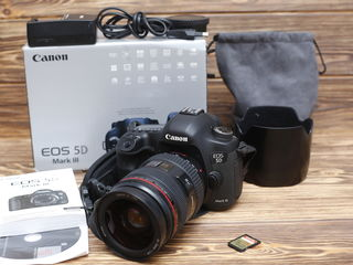 Canon 5D MARK III + Canon EF 24-70/2.8 L Состояние 10/10