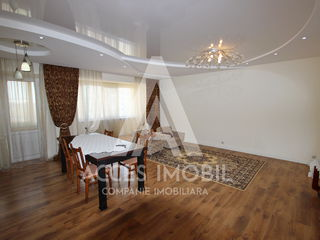 Bloc Nou! Basconslux! Ciocana, 3 odăi + living, 100 m2, reparație euro!