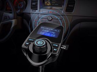Премиум автомобильный комплект Bluetooth/AUX/FM для передачи звонков/аудио с USB зарядным входом