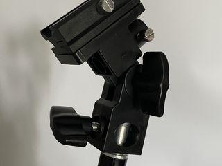 Держатель E type II для вспышки и зонта на стойку (Type e Держатель зонта) fixator