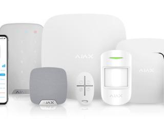 Продажа и монтаж сигнализации Ajax | Ajax Hub, Ajax MotionProtect, etc