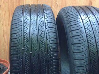 Комплект шин на кроссовер Michelin 2 +  Bridgestoune 2