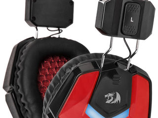 Наушники Redragon Ridley Red-Black