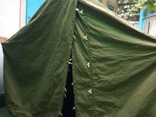 Палатка брезентовая