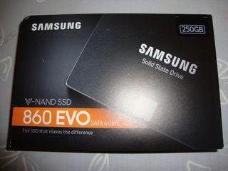 SSD Samsung 860 EVO V-Nand, Sata 6 Gb/s, 250 GB, nou sigilat, in cutie