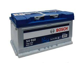 Аккумулятор 12V 80AH 740A Bosch S4 Silver 0092S40100,livrare,garantie,2170 lei