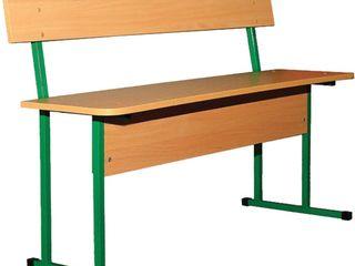 Мебель для школьных столовых - столы, скамьи. Регулируются по высоте