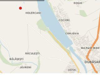 Продаётся участок под строительство в 12,3 сотки на берегу Днестра в с. Холеркань. Цена: 20500 евро.