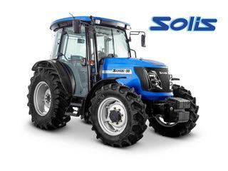 Tractor Solis (90 cai, 4x4) pentru lucru în câmpuri