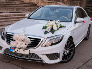 Chirie/прокат Mercedes S Class AMG Long 2017 cu sofer/с водителем