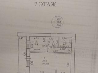Продается уютная однокомнатная квартира в центре города!