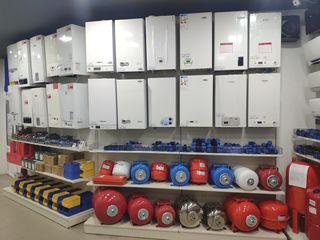 Самый большой выбор газовых котлов в Молдове. Низкие цены, системы скидок!