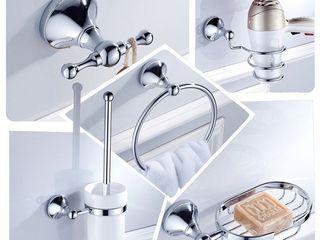 Навеска ванных и кухонных аксессуаров. Полочки, зеркала и др. Качественно.