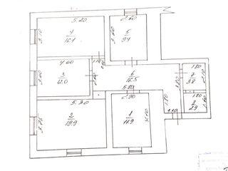 Se vinde apartament - 5 camere (96.1 m.p.) 270€ m.p