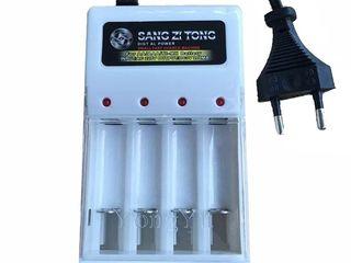 Универсальное зарядное устройство на 4 слота для NiMH NICD аккумуляторов!